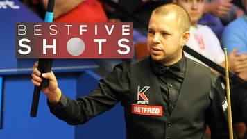 snooker world championship: barry hawkins beats lyu haotian 13-10 to reach last eight