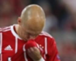 bayern boosted by alaba and martinez fitness but robben trains alone ahead of real madrid return