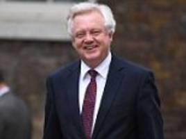 david davis claims he's being squeezed out of talks by brexit adviser