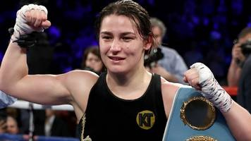 ireland's taylor unifies lightweight titles