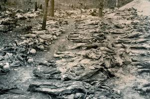 thousands of slaughtered polish officers remembered on cannock chase