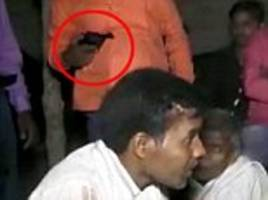 groom shot dead during his wedding as man blasts him from close range during celebrations in india