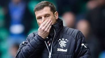 graeme murty sacked by rangers as steven gerrard closes in on manager's role