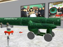 take a tour of north korea's nuclear arsenal with a virtual reality museum of missiles