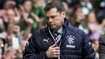 rangers: graeme murty 'can walk away with head high' - malky mackay