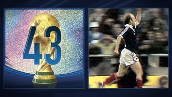 world cup countdown: archie gemmill's goal against netherlands - 1978
