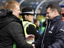 hibernian boss neil lennon blasts rangers for 'scandalous' treatment of graeme murty
