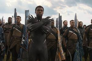 'avengers: infinity war' box office records are a triumph for 'black panther' too