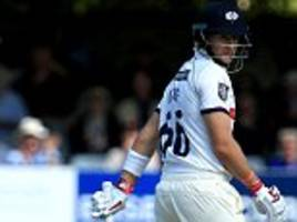 england's acid test as batsmen must lead test team out of the doldrums
