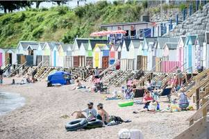 hour by hour bank holiday sunday forecast for devon including exeter, plymouth, barnstaple, exmouth and torquay