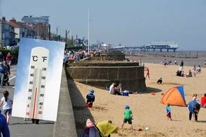 bank holiday weather forecast for grimsby and cleethorpes as heatwave looks like it's here to stay