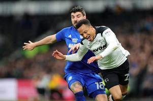 derby county team to face barnsley revealed