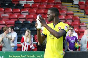wigan athletic, portsmouth and rotherham united among clubs chasing cheltenham town striker mo eisa