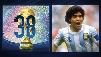 50 great world cup moments: diego maradona's great goal against belgium - 1986