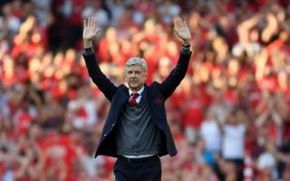 wenger keeps emotions at bay after grand farewell to arsenal