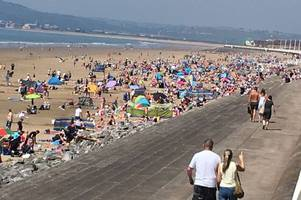 how hot it got where you are in wales as may day record broken with temperature hitting 26.3c