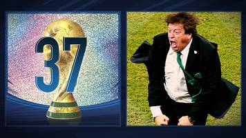 50 great world cup moments: mexico's miguel herrera steals the show - 2014