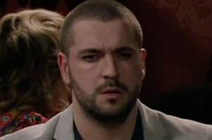 coronation street star shayne ward changed aidan connor's suicide scene for heartbreaking reason