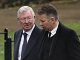 alex ferguson's first words after recovering from brain haemorrhage