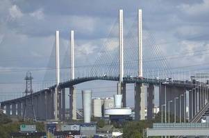 m25 dartford crossing will close this weekend for emergency roadworks