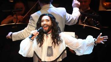 conchita wurst: 'i want to be clear this is not a joke'