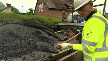 extra teams out in telford after pothole reports increase