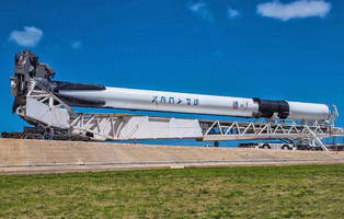 the final design of spacex's falcon 9 rocket launches today