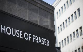 house of fraser crashes to £44m loss in 2017