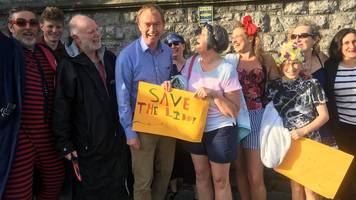 save grange lido group appeals to mp tim farron