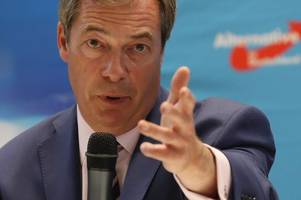 nigel farage rules out joining dup - and is 'set to remain ukip mep'