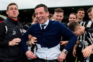 st mirren boss jack ross is destined to manage in england claims former buddies star lee mair