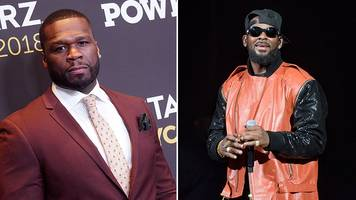 50 cent: spotify 'wrong' to remove r kelly from playlists