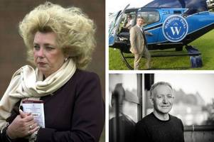 these are the richest people living in and around hertfordshire according to the sunday times