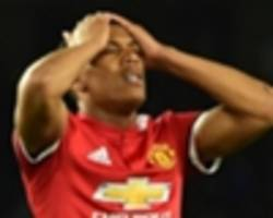 man utd confirm martial injury after shock omission