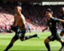 southampton 0 manchester city 1: last-gasp jesus strikes for ton-up champions