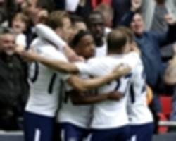 tottenham 5 leicester city 4: kane and lamela at the double in premier league classic