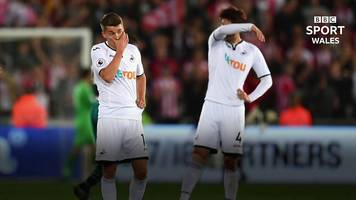 swansea city: where did it all go wrong for the relegated swans?