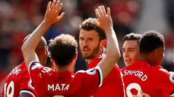 man utd defeat watford in carrick's farewell
