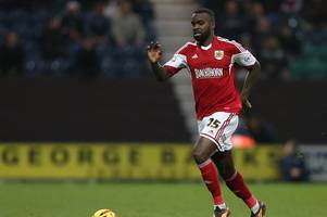 the former bristol city and brentford defender in danger of dropping out of the efl