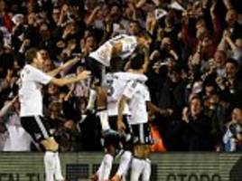 fulham 2-0 derby: ryan sessegnon and dennis odoi fire cottagers into wembley play-off final