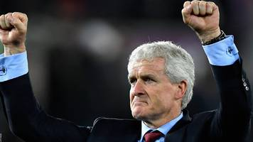 southampton: mark hughes would love to remain saints manager