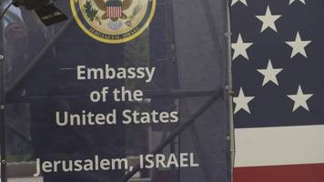 the new us embassy in jerusalem is officially open