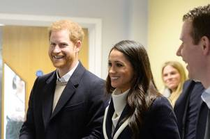 prince harry and meghan markle to spend night before wedding in separate country hotels