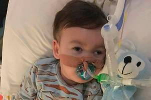 funeral for alfie evans to be held in liverpool today as tragic tot is laid to rest