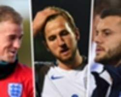 England's 2018 World Cup squad predicted: Who will make Southgate's 23-man squad?