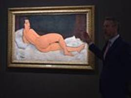 Modigliani painting becomes fourth most expensive work of art sold at auction ever for $157.2MILLION
