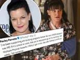 pauley perrette claims 'physical assaults' was reason she left ncis