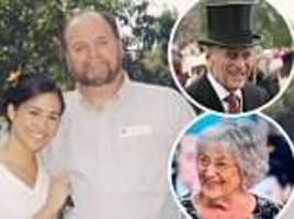 germaine greer: royals didn't want meghan markle's father at wedding