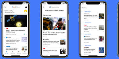 The new AI-powered Google News app is now available on iOS