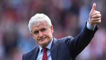 mark hughes: southampton manager in negotiations to extend deal
